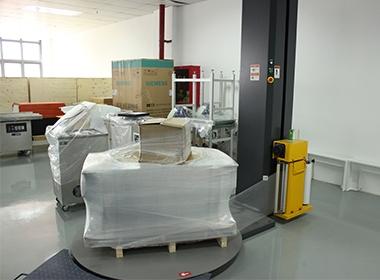 惠州(光弘)自动缠绕包装机使用案例