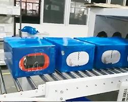 惠州(辉贸)袖口式热收缩包装机使用案例