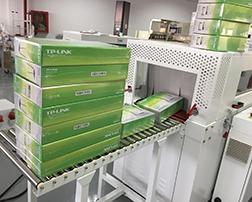 路由器应用热收缩包装机案例