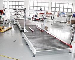 深圳(欣旺达)自动开箱、封箱机包装流水线使用案例