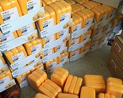 海绵应用收缩包装机包膜案例