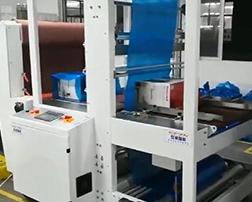 食用油应用袖口式收缩包装机案例