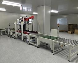 自动封箱机用于文具和行业