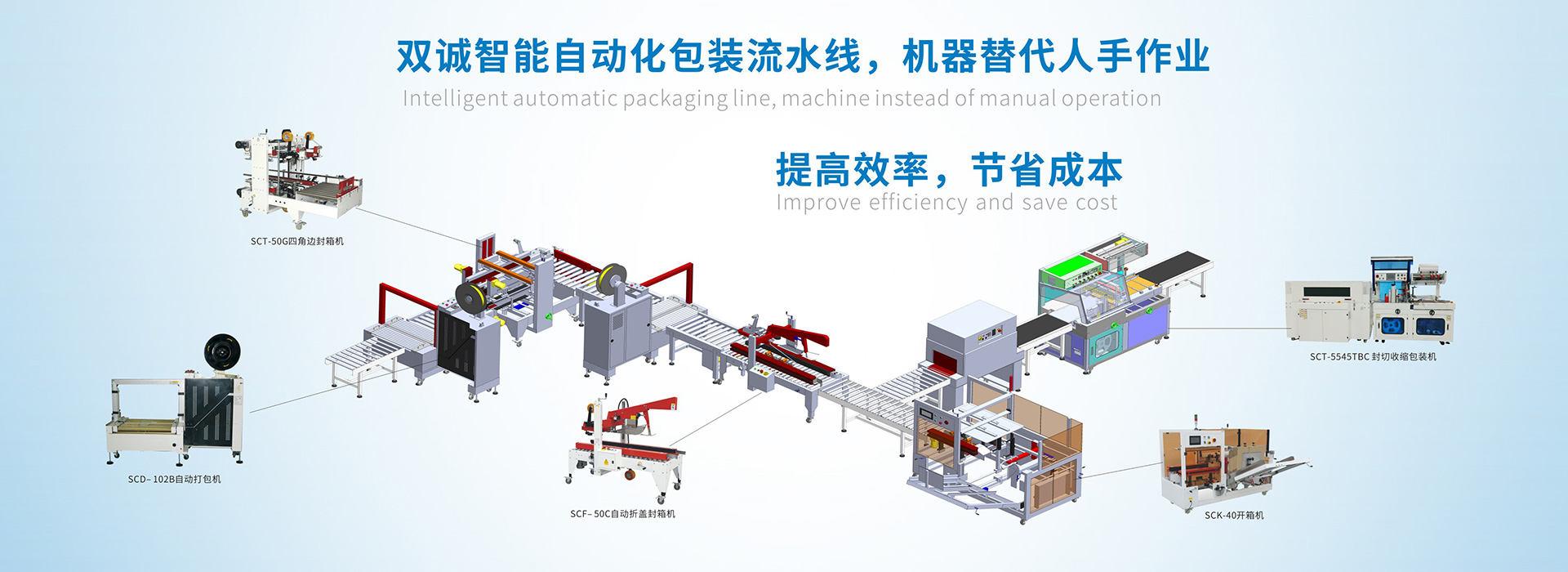 纸箱开箱机生产线
