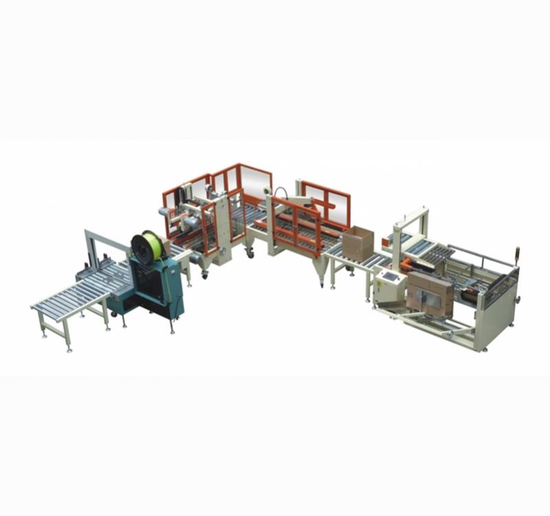 自动包装流水线-标准型全自动包装线