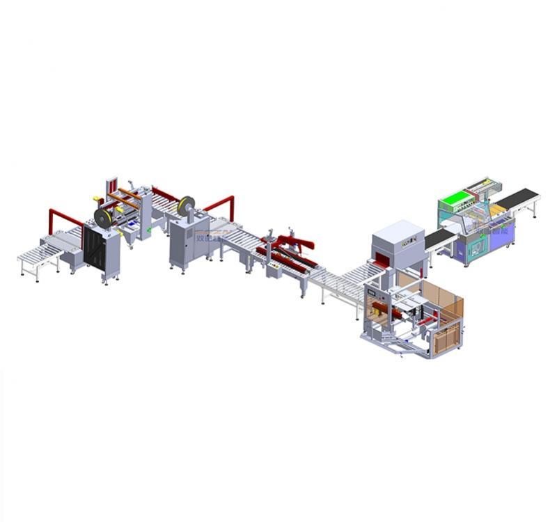 包装流水线设备-自动化包装流水线